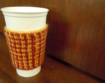Coffee Cozy - Hogwarts Houndstooth