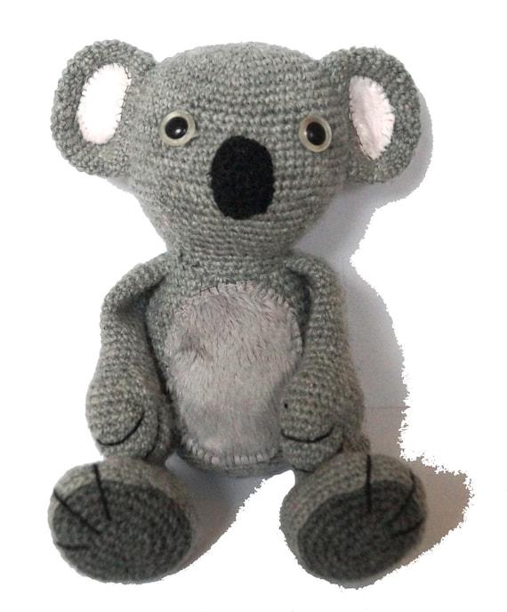 Amigurumi Koala Pattern : Koala Amigurumi Crochet Pattern PDF by MaijaHandmade on Etsy