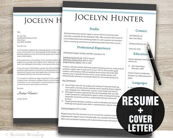 timeless resume template resume cover letter template cv