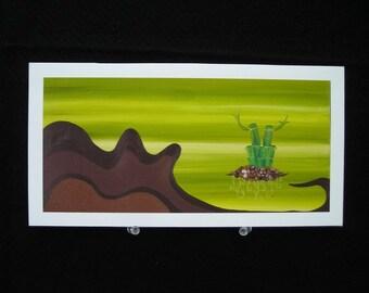 Eternal Green - Fine Art Print on Watercolour Paper