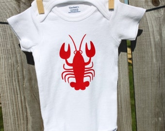 Lobster Nautical Onesies®, Nautical Baby Shower