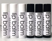 ECONOMY pack lip balm, set of 6 / lip balm set / organic lip balm / simple lip balm / pure / natural / .15 ounce