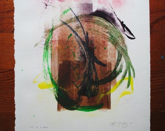 Monotype 15X11.5 Untitled