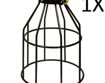1X Metal Lamp Cage - Edison Bulb - Industrial lighting - Metal Cage