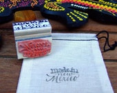 Made in New Mexico Stamp, Home State, Calligraphy Stamp, Handmade Stamp, Made in America, Shop Packaging, Rubber Stamp