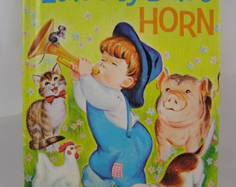 Little Boy Blue's Horn, vintage children's book
