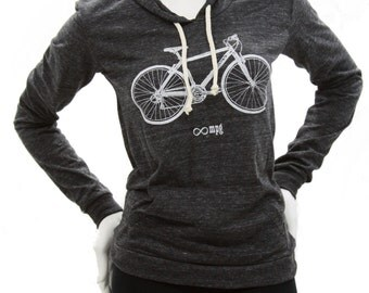 Bicycle | Soft Lightweight classic pullover hoodie | Infinite MPG
