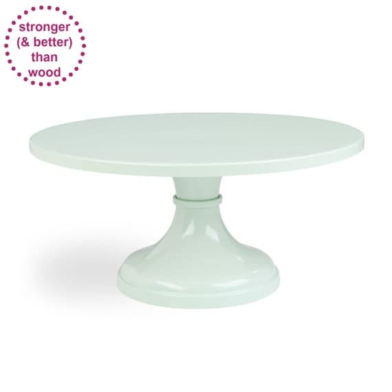 Mint Green Wedding Cake Stand by SarahsStands on Etsy