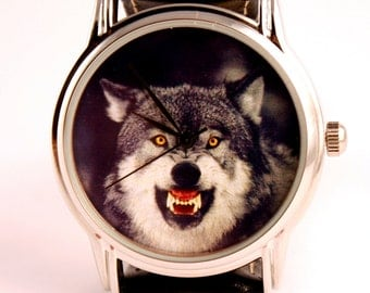 Watch wolf mens watches watch for hunter