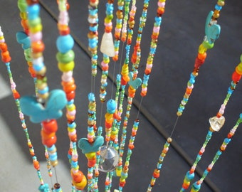 Glass Beaded Mobile/suncatcher/glass beads