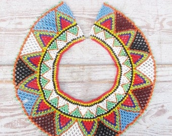 Native American Beaded Collar