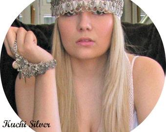 Festival Burning Man Hair Accessories Headdress Hair Jewelry Headpiece Head Jewelry Boho Head Piece Gypsy Headpiece Hair Chain Head Chain