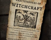 1692 Witch Trials Notice