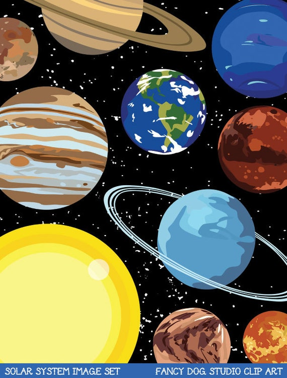 solar system clipart - photo #14