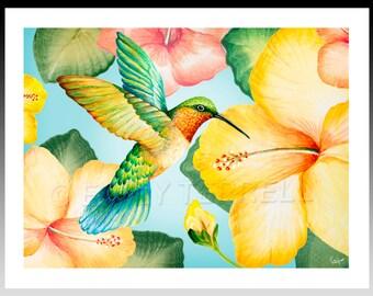 Hummingbird 8x10 Print