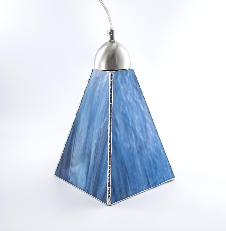 Stained Glass Pendant Light Unique Ceiling Fixture Glass