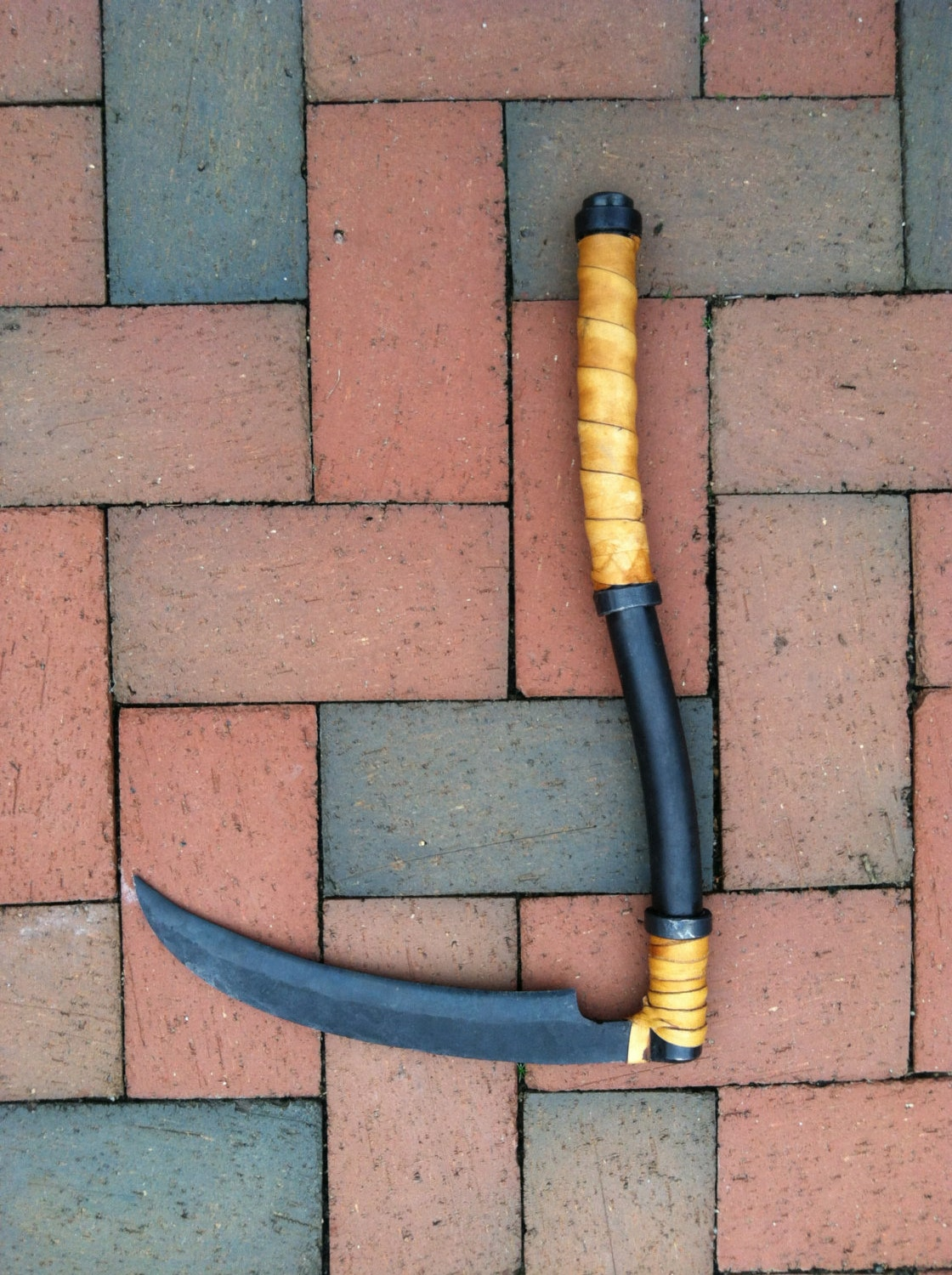 Hand crafted miniature reaper scythe for Handcrafted or hand crafted