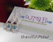 Friendship Jewelry Gift Ideas for Best Friends Birthstone Jewelry Wire Wrapped Earrings Handmade Gift for BFF Birthstone Earrings ITEM0129