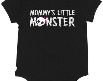 Mommy's Little Monster Girl's Onesie