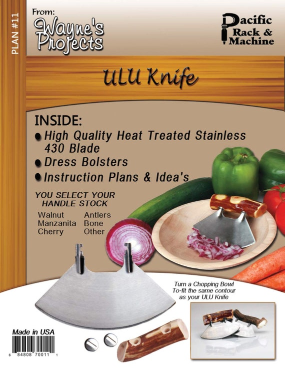 ULU Knife Plans