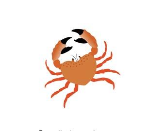 Crab (4x4 Card)