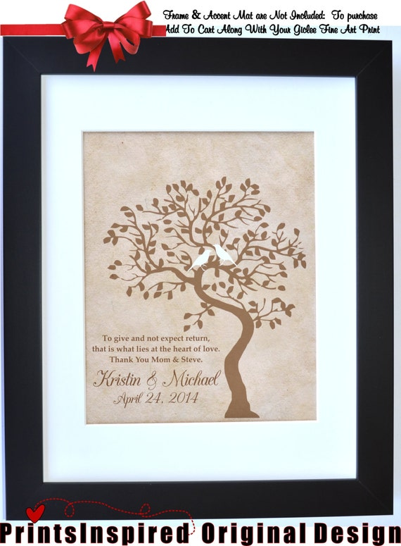 Thank You Wedding Gifts Parents : Thank you gift Wedding Gift For Parents: From Bride Groom For New ...
