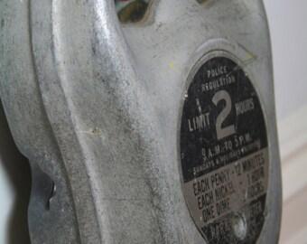 Stylish vintage American parking meter