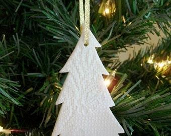 Porcelain Evergreen Tree Ornament