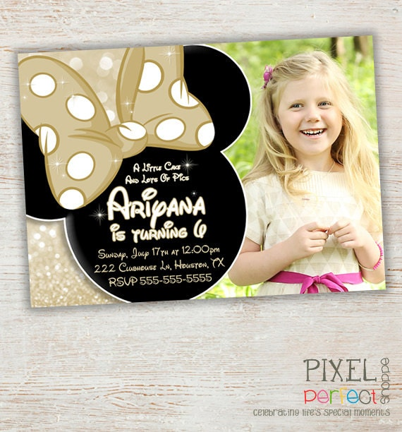 Mickey & Minnie Invitations as awesome invitations ideas