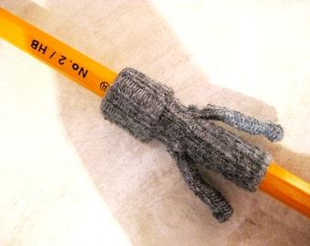 Gray Pencil Sweater