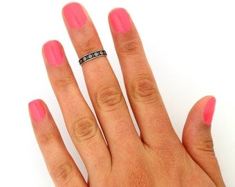 Sterling Silver Infinity Toe Ring Australia