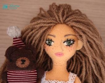 Magdalena and Harry. Handmade toys