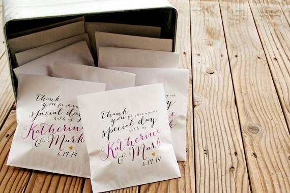 Wedding Favor Bags For Cookies : Wedding Favor Bag - Wedding Candy Favor, Wedding Cookie Favor ...