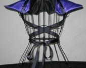 Purple Black Cosplay Gothic Anime Maleficent Neck Shoulder Collar  Shrug Emo  PUNK