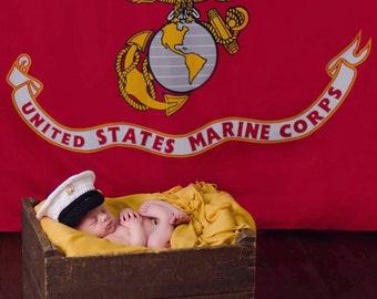 Marine Corps - usmc - Marine Corps Baby - Military - Marines - US Marine Corps - Marine - US Marine - Marine mom - Hobbyist License #21512