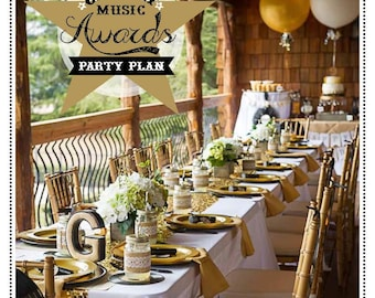 Country Music Awards Karaoke Party Plan - Karaoke Party Plan - Karaoke Party - Country Music Party - Awards Show Party - CMA Party
