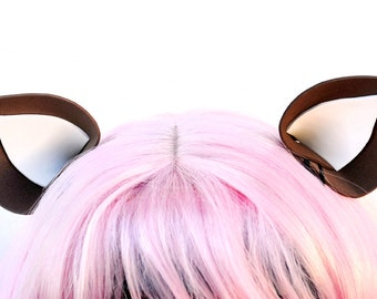 Clip In Ears: Deer Ears, Reindeer Ears, Deluxe Nekomimi Costume Ears
