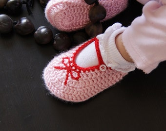 Crochet Pattern - Baby Booties - Instant Download