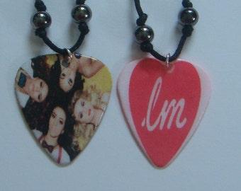 Little Mix Guitar Pick Necklaces