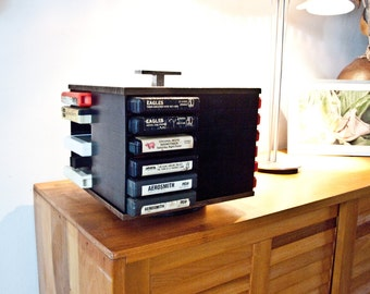 8 Track Display Case  / With 20 Tapes
