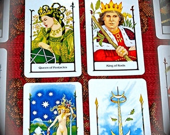 Career Decision Tarot Card Reading, 4-cards for Pros & Cons, Job Choice Reading
