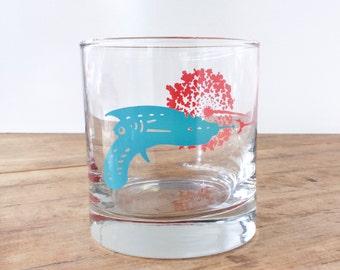 Raygun Drinking Glass