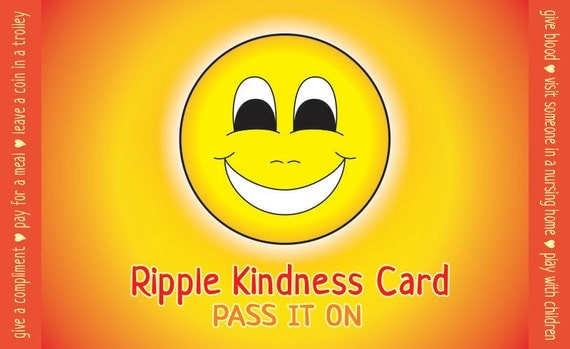 Ripple Kindness Cards - Adult and Children's Pay It Forward Cards
