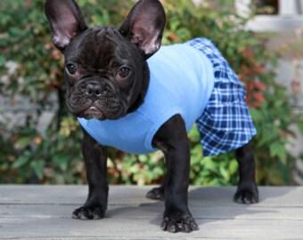 Dog Belly Band,Dog Boxer Shorts, Dog Pants, Dog Shorts,Plaid Dog Shorts, Personalized dog shorts