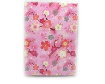 Sweet Sakura passport cover - choice of personalized or plain - cherry blossom passport holder - women's travel accessory