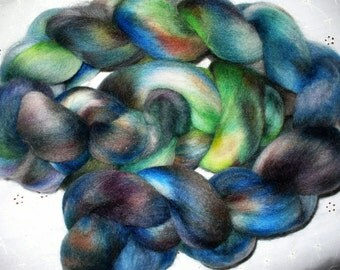 Wool Top Corriedale Cross for Hand Spinning or Felting