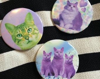 Kitsch Kitten Pin Set