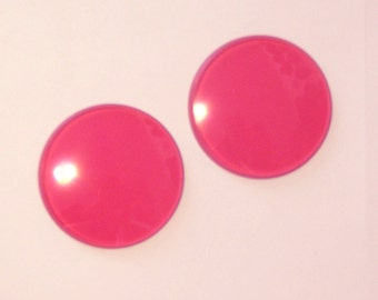 PINK Goggle Lenses- Pair - by Darkwear Clothing