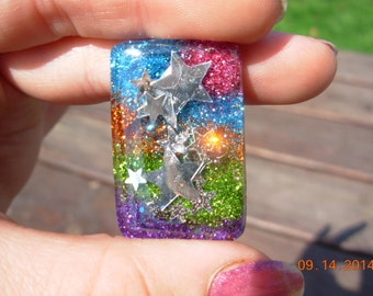 Ohh My Shooting Stars Resin Necklace