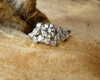 Star Cluster Diamond Ring